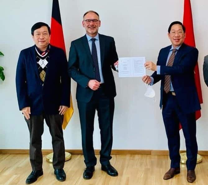 Vietnamese Commercial Counselor to Germany: A meeting between two large corporations Bamboo Capital and Siemens Energy.